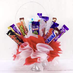 Mini chocolate bar bouquet