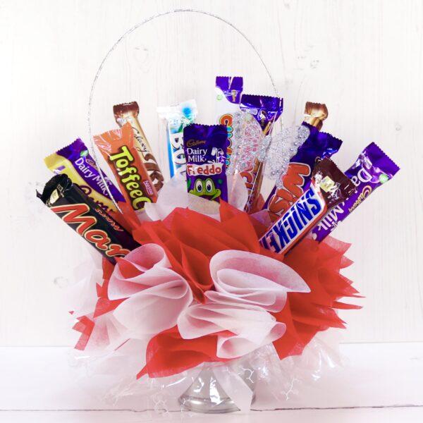 chocolate bar bouquet tutorial
