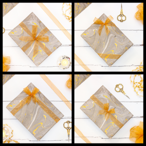 Learn a new skill online - free gift wrapping tutorial